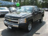 2011 Black Chevrolet Silverado 1500 LS Regular Cab 4x4 #53410410