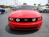 Torch Red Ford Mustang in 2007