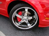 2007 Ford Mustang GT Deluxe Coupe Custom Wheels