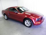 2007 Redfire Metallic Ford Mustang V6 Deluxe Coupe #53410169