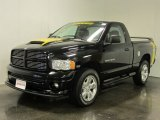 2004 Black Dodge Ram 1500 Rumble Bee Regular Cab 4x4 #53409928