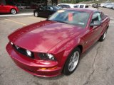 2006 Ford Mustang GT Deluxe Coupe Front 3/4 View