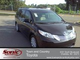 2011 Black Toyota Sienna Limited #53410200