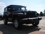 2011 Black Jeep Wrangler Sport 4x4 #53410229