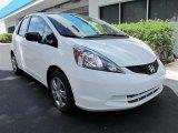 2011 Taffeta White Honda Fit  #53409480