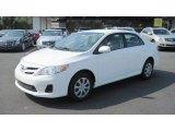 2011 Super White Toyota Corolla LE #53409988