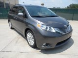2011 Predawn Gray Mica Toyota Sienna Limited #53409777