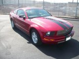 2005 Redfire Metallic Ford Mustang V6 Deluxe Coupe #53409548