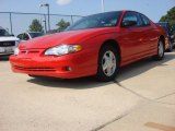 2000 Chevrolet Monte Carlo SS Front 3/4 View