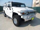 2003 White Hummer H2 SUV #53409788