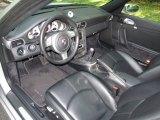 2007 Porsche 911 Carrera 4S Cabriolet Black Interior