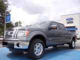 2011 Sterling Grey Metallic Ford F150 Lariat SuperCrew 4x4 #53463336