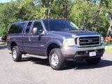 2004 Medium Wedgewood Blue Metallic Ford F250 Super Duty Lariat SuperCab 4x4 #53463706