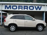 2011 White Sand Beige Kia Sorento LX V6 AWD #53463362