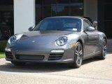 2012 Meteor Grey Metallic Porsche 911 Carrera GTS Cabriolet #53409601