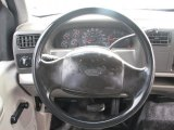 2000 Ford F250 Super Duty XL Extended Cab Steering Wheel