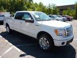 2011 White Platinum Metallic Tri-Coat Ford F150 Platinum SuperCrew 4x4 #53463366