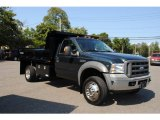 2005 Ford F550 Super Duty XL Regular Cab 4x4 Chassis Dump Truck Data, Info and Specs