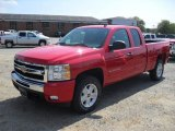 2011 Victory Red Chevrolet Silverado 1500 LT Extended Cab 4x4 #53464067