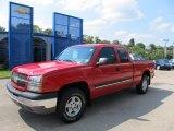 2003 Victory Red Chevrolet Silverado 1500 Z71 Extended Cab 4x4 #53409635