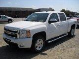 2011 Summit White Chevrolet Silverado 1500 LTZ Crew Cab 4x4 #53464070