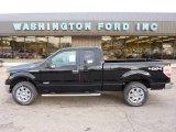 2011 Ebony Black Ford F150 XLT SuperCab 4x4 #53463742