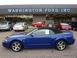 2003 Sonic Blue Metallic Ford Mustang Cobra Convertible #53463747
