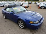 2003 Ford Mustang Sonic Blue Metallic