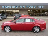 2010 Sangria Red Metallic Ford Fusion SEL V6 #53463754