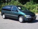 1998 Chrysler Town & Country Deep Hunter Green Pearl