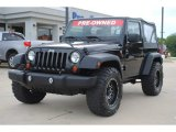 2011 Jeep Wrangler Sport S 4x4 Front 3/4 View