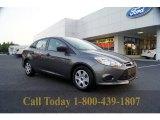 2012 Sterling Grey Metallic Ford Focus S Sedan #53463471