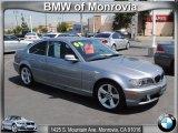 2005 Silver Grey Metallic BMW 3 Series 325i Coupe #53409856