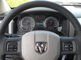 2012 Dodge Ram 1500 Big Horn Crew Cab Steering Wheel