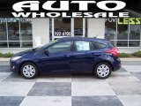 2012 Kona Blue Metallic Ford Focus SE 5-Door #53463799
