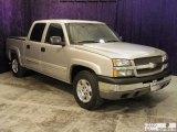 2004 Silver Birch Metallic Chevrolet Silverado 1500 Z71 Crew Cab 4x4 #53409880