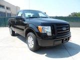 2011 Ebony Black Ford F150 STX Regular Cab #53463620