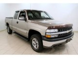 2002 Light Pewter Metallic Chevrolet Silverado 1500 LS Extended Cab 4x4 #53463992