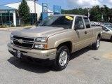 2006 Sandstone Metallic Chevrolet Silverado 1500 Z71 Extended Cab 4x4 #53463999