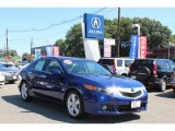 2009 Vortex Blue Pearl Acura TSX Sedan #53545021