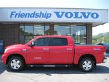 2008 Radiant Red Toyota Tundra Limited CrewMax 4x4 #53545030