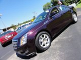 2009 Black Cherry Cadillac CTS 4 AWD Sedan #53544889
