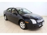 2008 Dark Blue Ink Metallic Ford Fusion SE #53464014