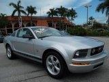 2009 Brilliant Silver Metallic Ford Mustang V6 Premium Coupe #53545039