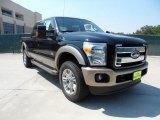 2012 Black Ford F250 Super Duty King Ranch Crew Cab 4x4 #53463628