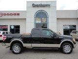 2010 Tuxedo Black Ford F150 Lariat SuperCab 4x4 #53545046