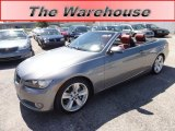 2007 Space Gray Metallic BMW 3 Series 335i Convertible #53544916