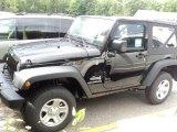 2012 Black Jeep Wrangler Sport 4x4 #53410317