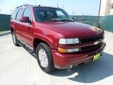 2004 Sport Red Metallic Chevrolet Tahoe Z71 4x4 #53463642