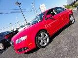 2008 Brilliant Red Audi A4 3.2 Quattro S-Line Sedan #53544922